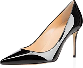 f5f91bcdcaf4 Eldof Women s High Heel Pumps - Classy Pointy Toe Pumps - Office Wedding  Party Event Comfort