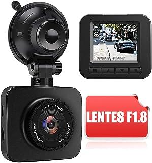 comprar comparacion AWESAFE Cámara de Coche Dash CAM 1080P Full HD 170 Ángulo con WDR G-Sensor, Detección de Movimiento, Grabación en Bucle, V...