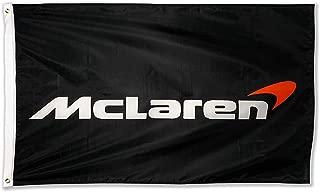 WHGJ Car Flag 3x5 ft for Mclaren Racing F1 Large Decor Automotive Outdoor/Indoor Banner