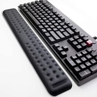 Keyboard Wrist Rest Gaming Tenkeyless Memory Foam Hand Palm Rest Support for Office, Computer, Laptop, Mac Typing and Wris...