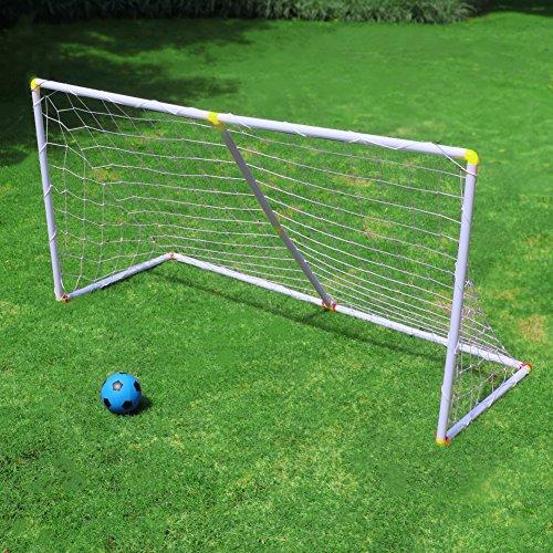 Fußballtor Set Sport Spiel Draussen Garten Spielzeug für Kinder 3 4 5 Jahren (Mehrweg)