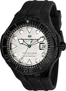 Technomarine TM-118085 Cruise Men's 48mm Automatic Black-Tone Steel White Dial
