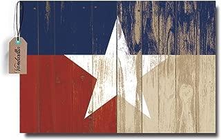 Rustic Vintage Texas Star Barn Wooden Doormat Door Mat Rug Outdoor/Indoor,for Home/Office/Bedroom (18 x 30, Multi)