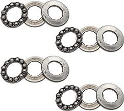 4pcs 51102 Single Direction Thrust Ball Bearings