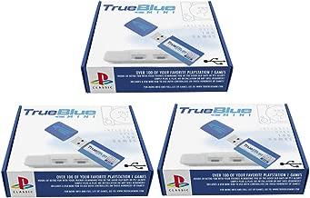 Petforu True Blue Mini Pack for PlayStation Classic (Crackhead Pack 64GB + Meth Pack 64GB + Fight Pack 32GB)