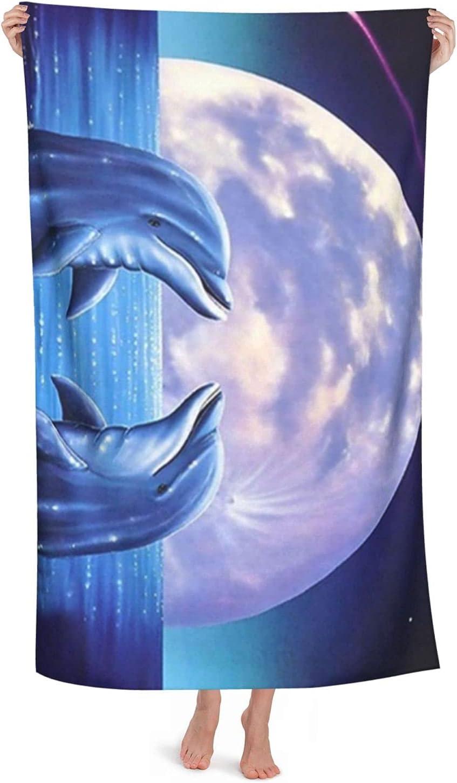 Microfiber Beach Ranking unisex TOP13 Towel Romantic Super Dolphin Animals Absorbent