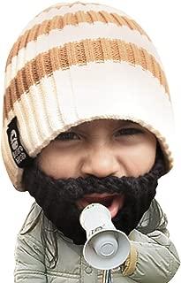 Beard Head Kid Scruggler Beard Beanie -Knit Hat and Fake Beard for Kids Toddlers
