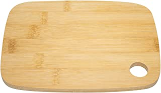 UST Bamboo Cutting Board with Eco-Friendly Construction, Moisture Resistance and Space Saving Size for Camping, Hiking, Em...