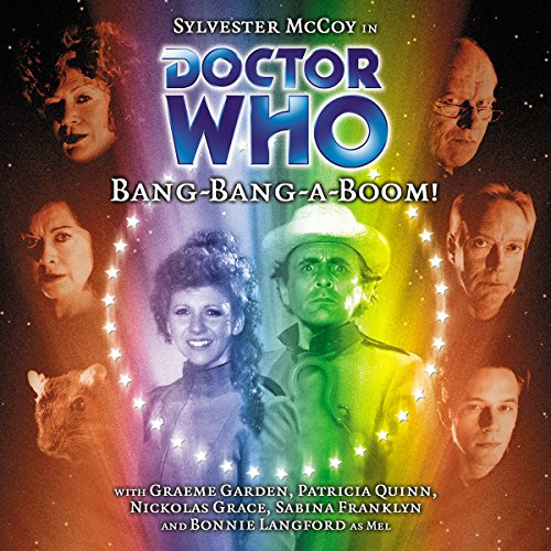 Doctor Who - Bang-Bang-a-Boom! audiobook cover art