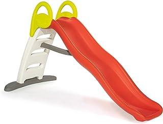 Smoby 7600820402 - Funny II Wellenrutsche, Große Rutsche mit Wasseranschluss, 2 Meter lang, mit Rutschauslauf, für Kinder ab 2 Jahren