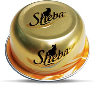 SHEBA Fine Cuts with Poultry Domes Cat Food, Multipack, 24 x 80g