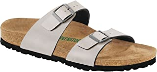 Womens Sydney Vegan Slide Sandal, Stone, Size 42 EU (11-11.5 M US Women)