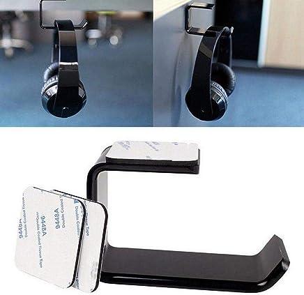 CAheadY 2Pcs Universal-Kopfh/örer-Kopfh/örer-Aufh/änger PC-Monitor-Schreibtisch-klebender Standplatz-Halter White