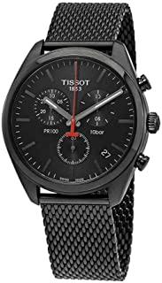 Tissot Men's PR 100 Chronograph - T1014173305100 Silver/Black One Size