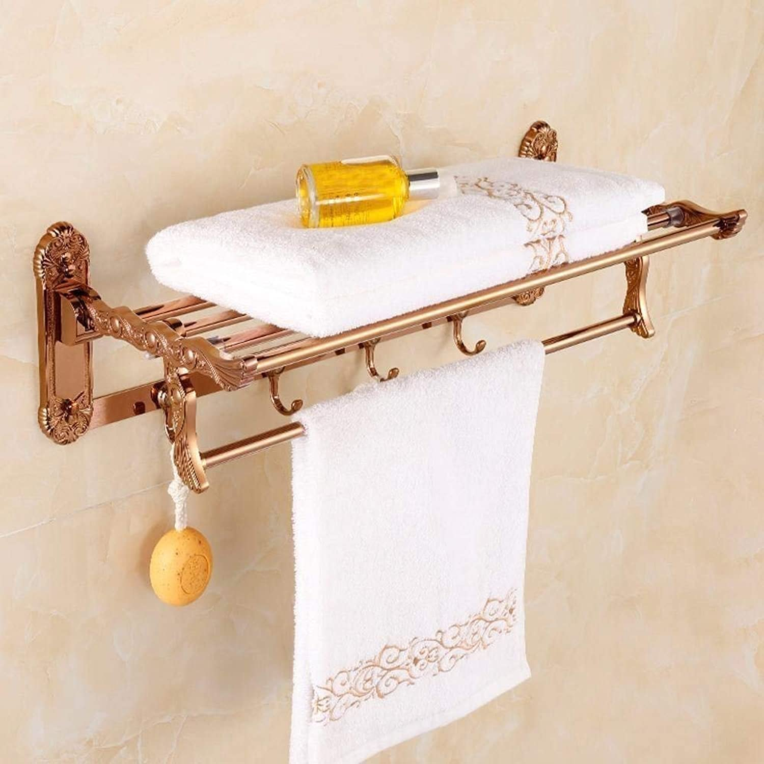 In Pink gold, Dry-Towels Tablets Old Bathroom