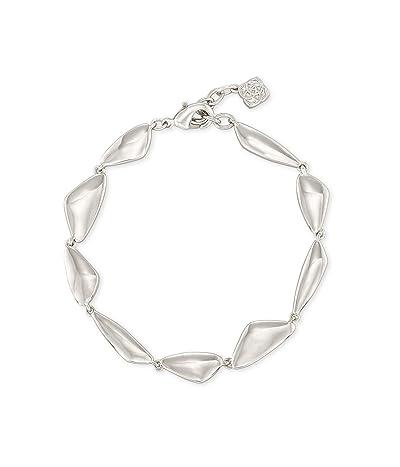 Kendra Scott Kira Link Bracelet (Rhodium Metal) Bracelet