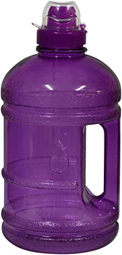 1 2 Gallon (64 oz.) BPA FREE Plastic Water Bottle w  48mm Twist Cap - lila by For Your Water
