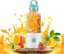 Portable Blender, Miss Rui Smoothie Juice Blender, USB Rechargeable Detachable 500ML Mini Shakes Juicer Cup for Outdoor Tr...