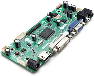 Yadianna Auto-Installing Combination M.NT68676.2A HD Universal LCD Controller Board Driver Module HD VGA DVI with Audio