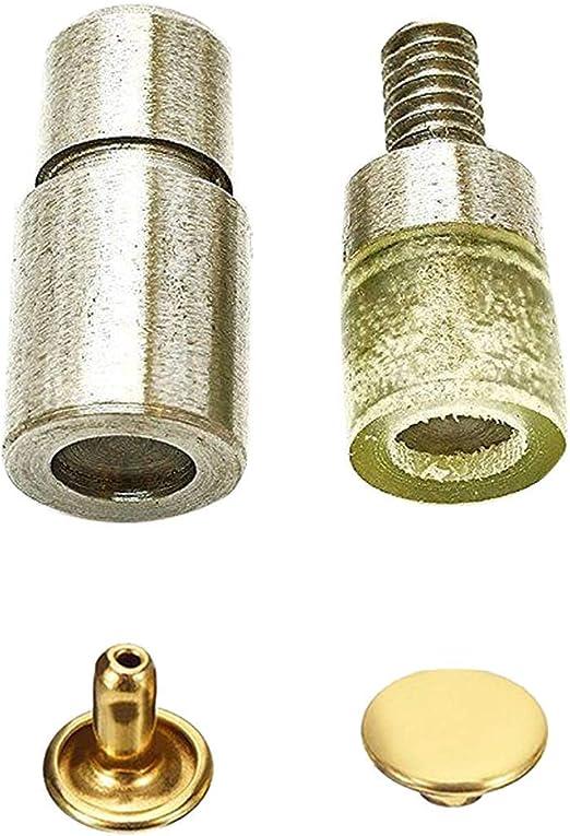 7mm 9mm Inossidabile 10mm, Rivetti Tubolari 6mm Doppia Testa Ottone in