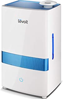 LEVOIT Cool Mist Humidifier for Bedroom, 4.5L Ultrasonic Air Vaporizer Humidifier for..
