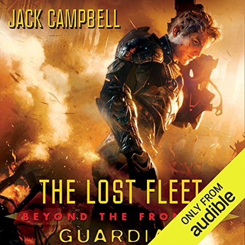 Guardian     The Lost Fleet: Beyond the Frontier, Book 3              Written by:                                                                                                                                 Jack Campbell                               Narrated by:                                                                                                                                 Christian Rummel                      Length: 13 hrs and 41 mins     9 ratings     Overall 4.8
