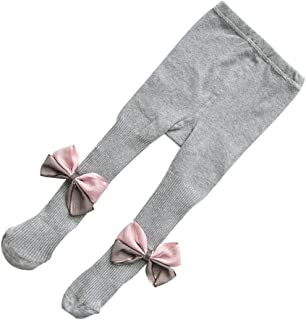 Toddler Kids Baby Girl Boys Bowknot Cotton Warm Tights Stockings Pantyhose Kids Girls Stretch Soft Elastic Stockings