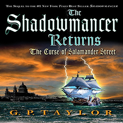 The Shadowmancer Returns cover art