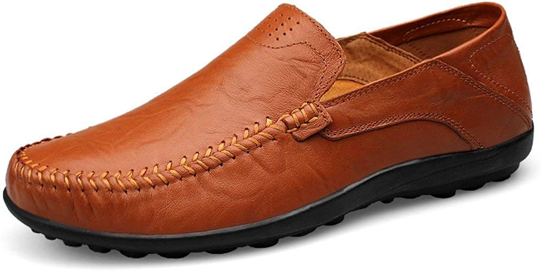 Herren Solide Klassische Slip-ons Dunkelbraun Casual Penny Loafers Loafers Loafers UK 5 (Farbe   -, Größe   -)  80fad5