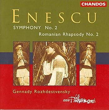 Enescu: Romanian Rhapsody No. 2 / Symphony No. 2