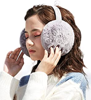 Foldable Ear Warmers Women Ear Covers for Cold Weather