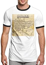 Mans Neil Young Crazy Horse Greendale Sports Customized Short Sleeve T-Shirt