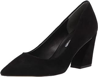 حذاء نسائي بكعب متوسط من CHARLES DAVID باللون الأسود، مقاس 6.5 أمريكي