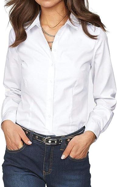 Camisas De Otoño Blusas De Mujer Blusas Largas Camisetas De ...
