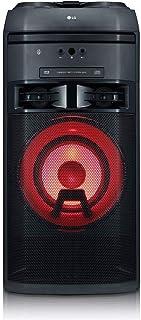 LG XBOOM OK55 - Altavoz Alta Potencia (500W, Bluetooth, USB, Funciones DJ, Karaoke), Negro