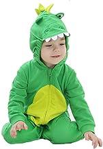 Katara Pijama Bebé Invierno Disfraz Animal (10+ modelos) 0-6 Meses, color dragón verde, (1778-013)