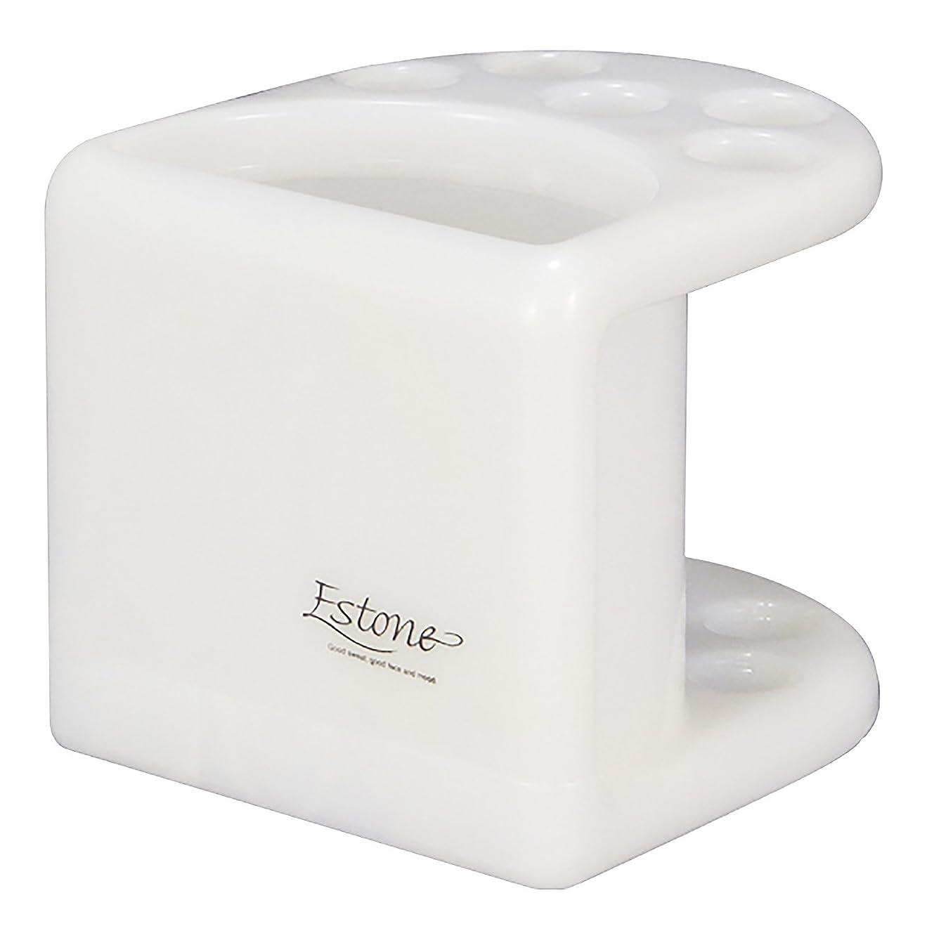 プレゼンター通常配分シンカテック 歯ブラシスタンド EX Estone エストーネ ホワイト
