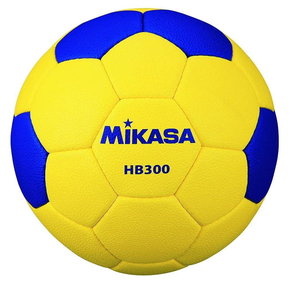 引き受ける豚豆ミカサ ハンドボール 検定球3号 屋外用 黄/青 HB300