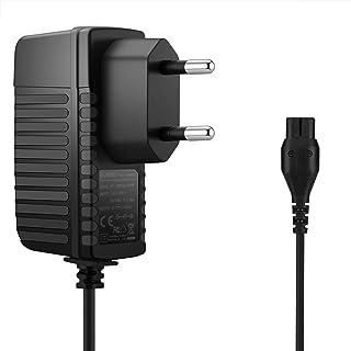 Aukru Cargador Fuente alimentación 5.5v de Aspirador batería Adicional para eléctrica kärcher WV2,WV5 WV50,WV50 Plus,WV60,WV70,WV75 etc