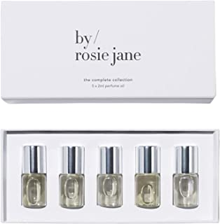 By Rosie Jane Seasonal Perfume Oil Collection - Essential Everyday Fragrance Sample Set (5X 2ml)