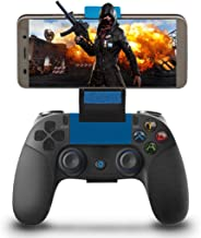 Mando para Android Inalámbrico, Maegoo Mobile Juegos Mando Inalámbrico Bluetooth Gamepad Joystick Controlador con Soporte Retráctil Compatible para Android Teléfono Tableta