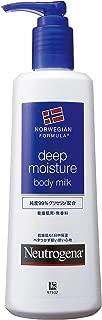 Neutrogena(ニュートロジーナ) ノルウェーフォーミュラ ディープモイスチャー ボディミルク 乾燥肌用 無香料 単品 250ml