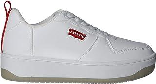 Levi's Chaussures de Sport pour Femme et Fille Levis VQUE0011S Queens 0061 White