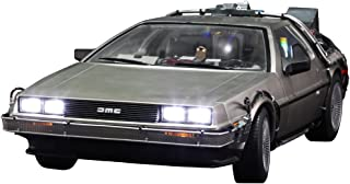 Back to the future movie masterpiece 1/6 scale Beagle DeLorean-machine (3 shipments)