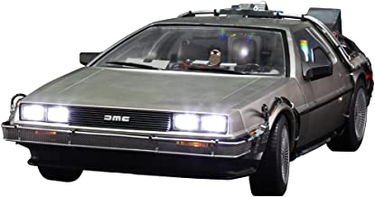Movie Masterpiece Back to the Future 1/6 scale vehicle DeLorean Time Machine (3-order shipments)