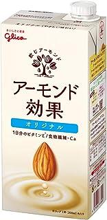 グリコ アーモンド効果 アーモンドミルク 1000ml×6本 常温保存可能
