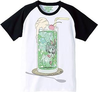 (シシュンキマーブル) 思春期マーブル 狐古あんこDrinkme Tシャツ