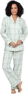 Flannel Pajamas Women - Women Flannel Pajamas, Boyfriend, Plaid