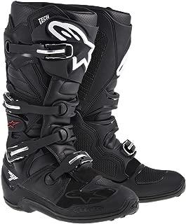 Alpinestars Tech 7 Men's Motocross Motorcycle Boots - Black/Size 11