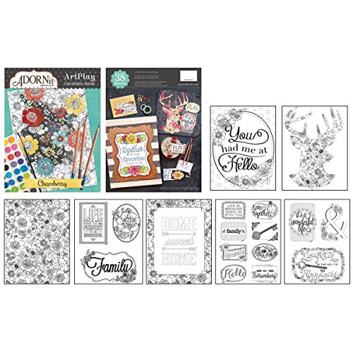 Adornit Artplay Chamberry Coloring Book